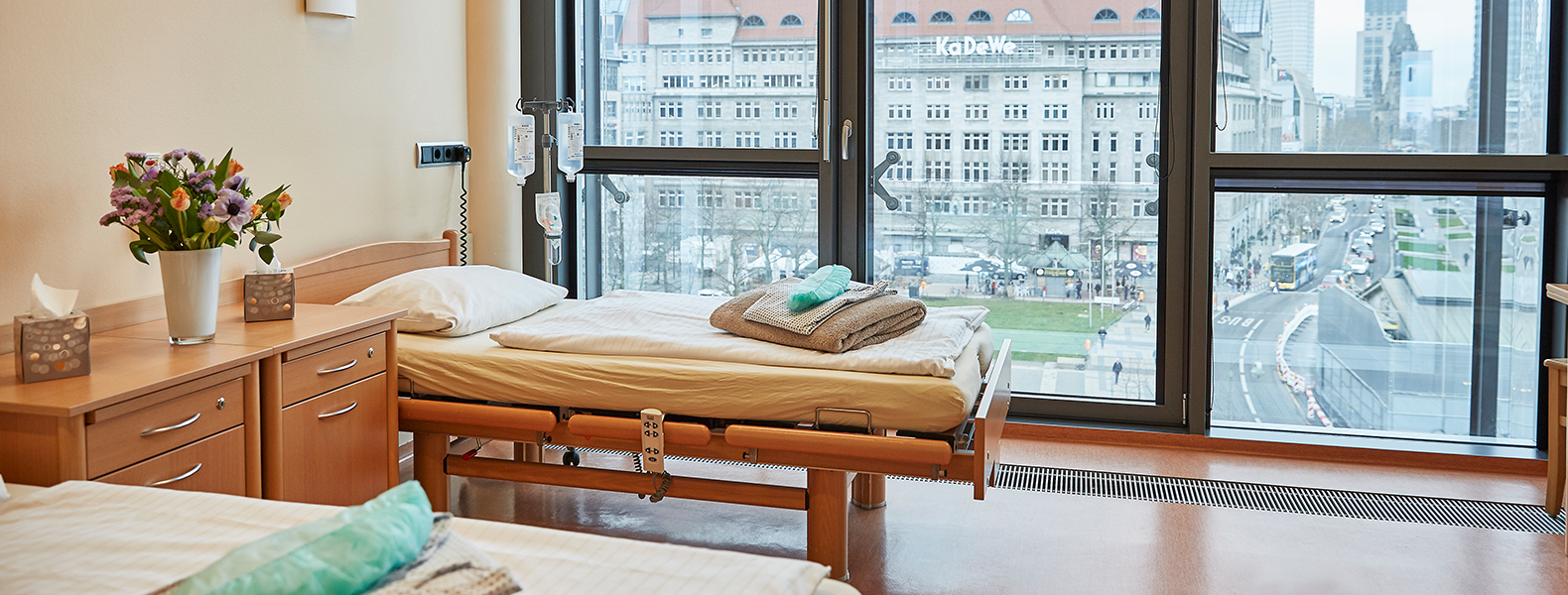 Our patient rooms with view